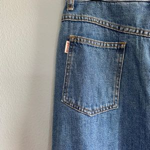Match Jeanswear Midi Jean Skirt Size 12